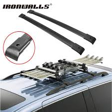 2010 Honda Odyssey Cross Bars by Ironwalls 2x Car Black Roof Top Cross Bars Crossbars Rail Rack