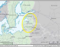 Study Of Maps Study Of Isolated Operation Of Baltic Power System European