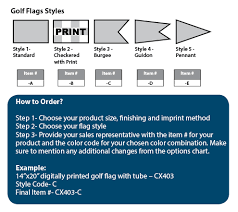 Custom Swooper Flags Golf Flags