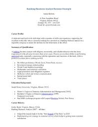 Investment Banking Resume Example by Investment Banking Business Analyst Resume Free Resume Example