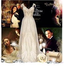 Christine Daae Halloween Costume Phantom Opera Clothing Modern Phantom Opera