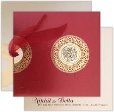 Marathi Wedding Invitation Cards Ribbon Laser Ganesha Motif Wedding Card Pinterest Ganesha