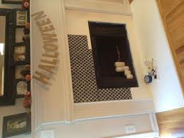 fireplace before u after painted fire places black in painted