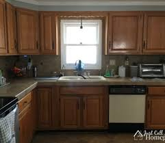 liquid sandpaper kitchen cabinets how to paint kitchen cabinets the right way homeright