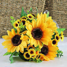 artificial sunflowers artificial sunflowers flowers ebay