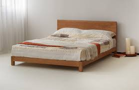 hand built the sonora is a contemporary low wooden bed available