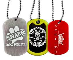 laser engraved dog tags engraved dog tags