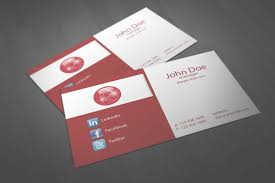 red corporate business card template vol 01 businesscardszone