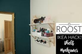 Ikea Shelf Hacks Ikea Shelf Hack A Bedroom Shelf Makeover Youtube