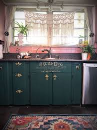 antique colored kitchen cabinets 8 colorful kitchen cabinets flea market finds home and