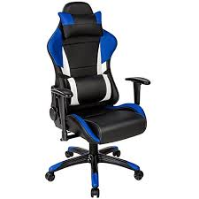 siege de bureau tectake chaise fauteuil siège de bureau racing sport ergonomique
