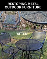 Metal Garden Chairs And Table Best 25 Metal Garden Furniture Ideas On Pinterest Welded