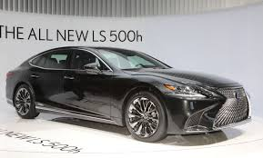 future cars brutish new lexus 2018 lexus ls500h the sophisticated sedan for the younger