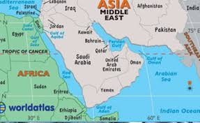 middle east map with countries kenya stops export of labour to middle east allafrica