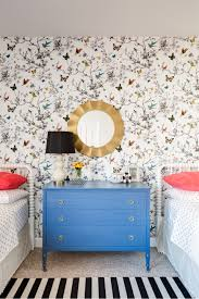 lexi westergard design butterfly wallpaper girls room lexi