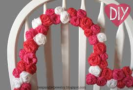 diy photo booth frame bespangled jewelry diy crepe paper rosette heart frame tutorial