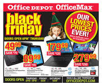 black friday 2014 home depot leaked office depot and officemax black friday 2014 ad scan