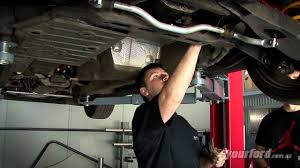 ba xr8 exhaust install yourford youtube