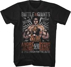 Macho Man Randy Savage Halloween Costume Andre Giant Macho Man Shirt Wrestling Mens Shirt