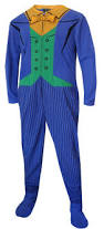 webundies com batman u0027s the joker fleece onesie footie pajama