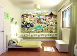 creative and educational wall murals for kids childrens bedroom kids childrens bedroom wallpaper ideas flower shop by jill mcdonald canvas wall murals