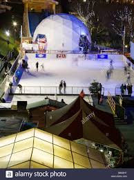 the winter wonderland outdoor ice rink princes street gardens
