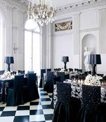 black and white wedding decorations glamorous black and white wedding decor wedding colour schemes