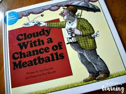cloudy chance meatballs unit study