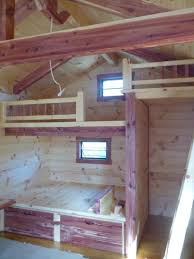 Bunk Beds Built Into Wall Ideal Built In Bunk Beds Southbaynorton Interior Home