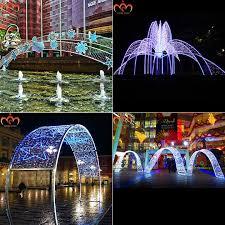 shopping mall decor christmas light arches buy christmas light