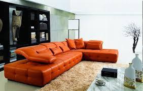 orange leather sectional sofa top 10 of orange sectional sofas