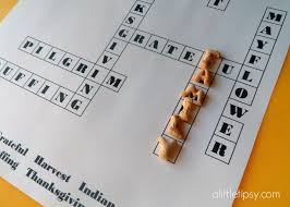 thanksgiving crossword puzzle printable printable thanksgiving crossword for kids a little tipsy