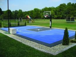 Outdoor Basketball Court Cost Estimate by The Cost To Get Your Basketball Court Installed