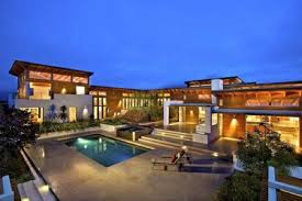 big house design big house designs from the front part with glass windows and dimly