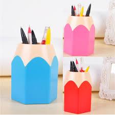 makeup brush vase pencil pot creative pen holder stationery desk