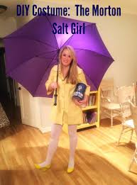 Real Life Halloween Costumes Diy Morton Salt Costume With A Tutorial On How To Make The