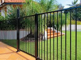 modern black wood fence home u0026 gardens geek