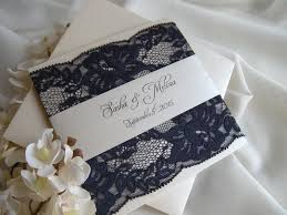 wedding invitations navy rustic wedding invitation lace wedding invitations wedding