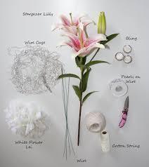 bouquet diy stargazer lily bridal bouquet diy floral inspiration