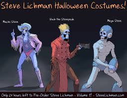 steve lichman halloween costumes 2 by daverapoza on deviantart