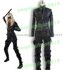 Green Arrow Halloween Costume Green Arrow Sara Lance Black Canary Pu Suit Cosplay Costume