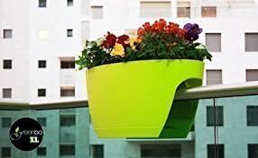 balkon blumenkasten mit halterung greenbo xl blumenkasten grün aus kunststoff balkonkasten