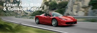 ferrari body shop greensboro u0026 certified collision repair