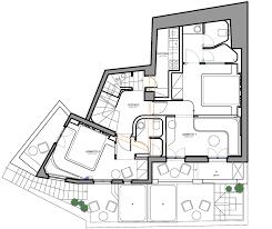 Ancient Greek House Floor Plan by Klab Decks Out Santorini Hotel In Smooth Curves