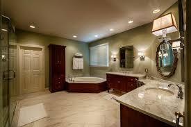 Framed Mirrors Bathroom Glittering Custom Master Bathroom Designs With Cherry Bathroom