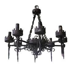 Black Chandeliers For Sale Spanish Iron Chandelier For Sale Antiques Com Classifieds