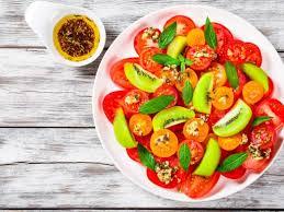 cuisine de lili salade de kiwis et tomates de lili recipe entrées kiwi and cuisine