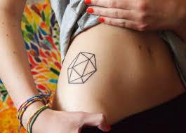 40 flawless geometric tattoos tattoodo