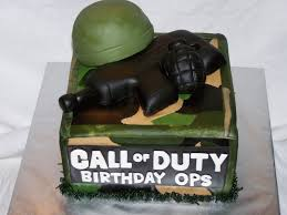 call of duty birthday cake cakes by kristen h call of duty