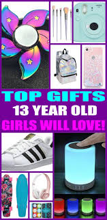 gifts for 13 year old girls